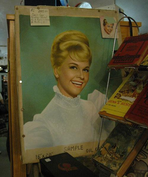 A Doris Day fan portrait