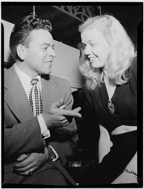 Portrait of Doris Day and Les Brown, Aquarium, New York, N.Y., ca. July 1946