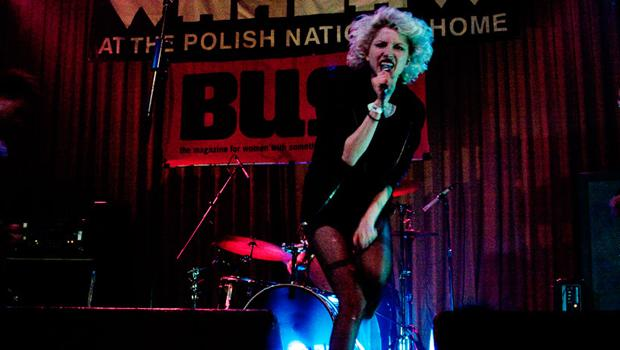 Hunters performed at the Polish National Home (the Warsaw) in Greenpoint on March 27.