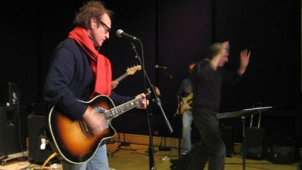 Ray Davies of the Kinks and Conductor David Temple Rehearse