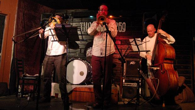 Kirk Knuffke Quartet performed at The Local 269 in Manhattan on March 15.