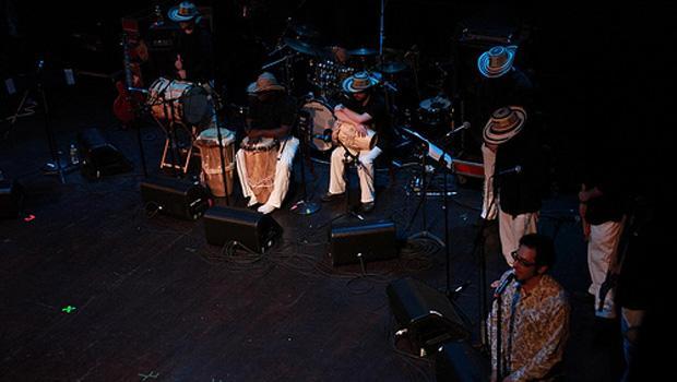 La Cumbiamba eNeYé at Globalfest 2010