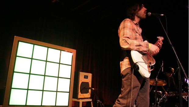 Memory Tapes performed at the Bell House on February 3.