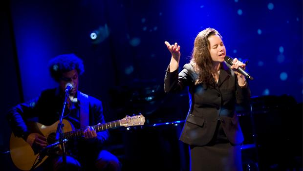 Natalie Merchant performed at Le Poisson Rouge in the West Village on May 2.