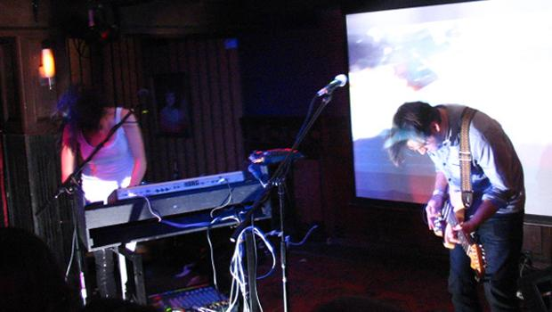 Phantogram performed at Union Hall in Brooklyn on February 11.