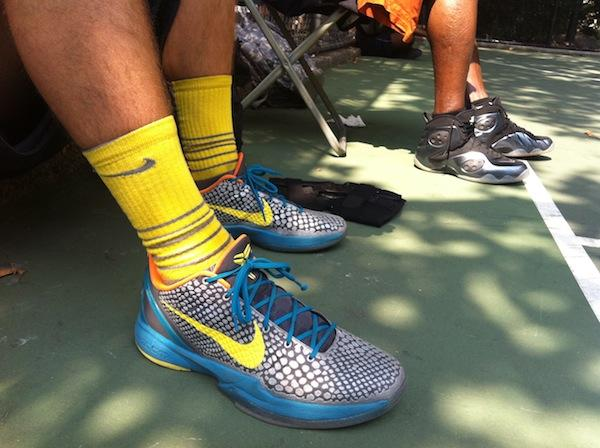 Steve Kelly, a 29 year old from the Bronx, works on Wall Street. Here he is in his Kobe 6's.