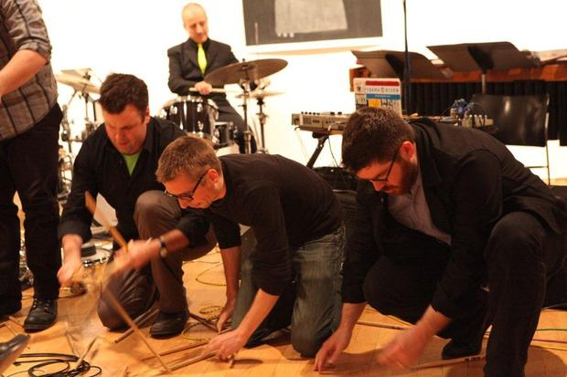 So Percussion, Bobby Previte and Doug Perkins