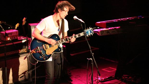 Sondre Lerche performed at the Bowery Ballroom on the L.E.S. on March 25.
