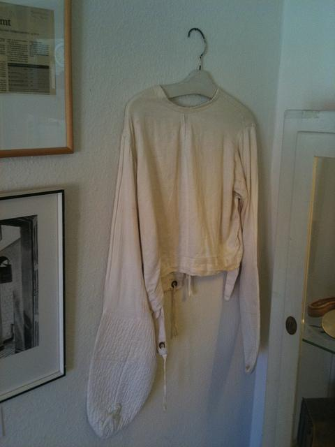 Straight jacket, Ovartaci Museum