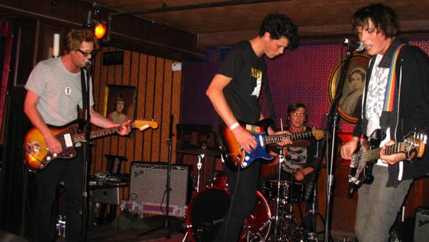 Surf City performed at Union Hall in Park Slope on March 22.