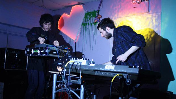 Teengirl Fantasy performed at Death by Audio in Williamsburg on February 27.