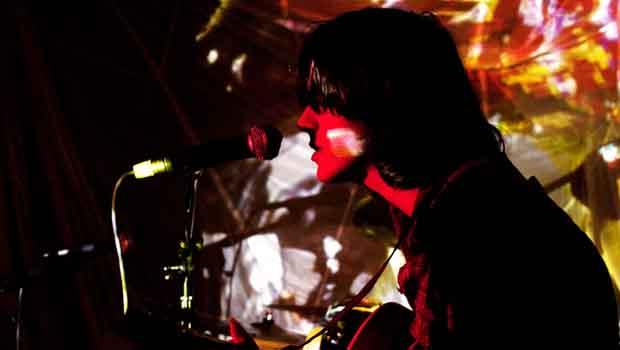 Zachary Cale performed at Bruar Falls in Williamsburg on February 5.