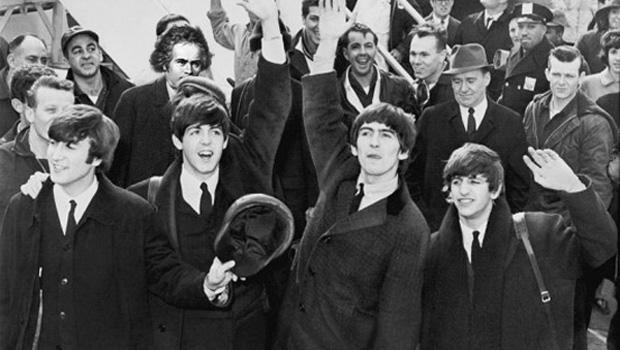 Beethoven is present at the British Invasion, along with the other Beatles.