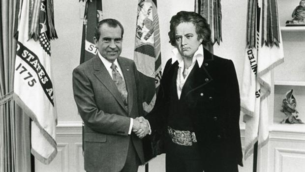 Nixon was a fan of many interesting characters from entertainment. Beethoven was not alone in this.