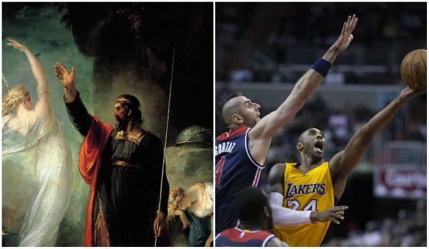 Prospero and Kobe Bryant