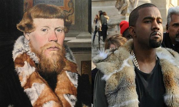 Kanye might not be so out of place in the 16th century