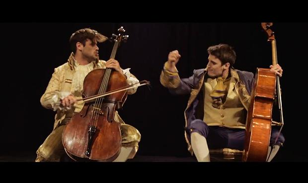 2Cellos play AC/DC's 'Thunderstruck'