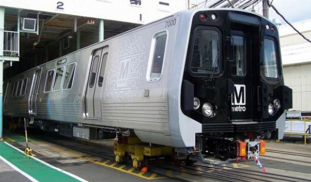 d c metro to begin running new railcars in late 2014 wnyc. Black Bedroom Furniture Sets. Home Design Ideas