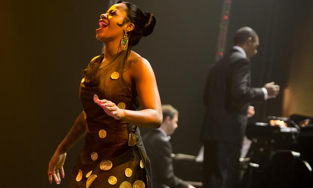 Fantasia in Broadway's 'After Midnight.'
