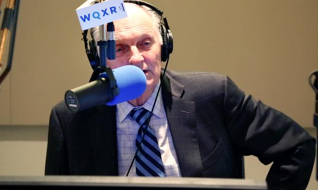 Alan Alda talks about his connection to Mozart in the WQXR studio.