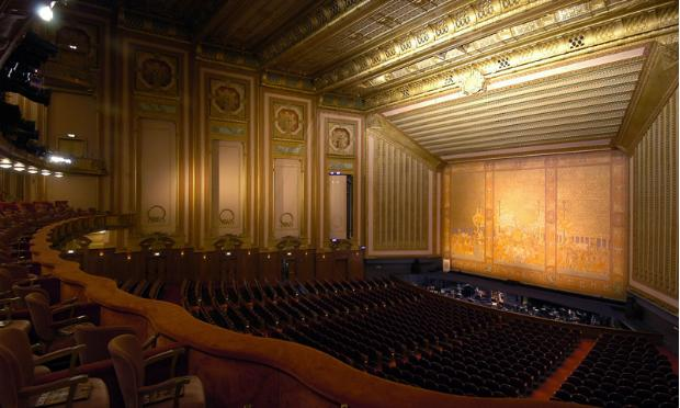 The Civic Opera House in Chicago