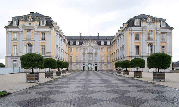 The Augustusburg Castle in Brühl, Germany.