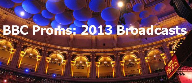 BBC Proms broadcasts banner