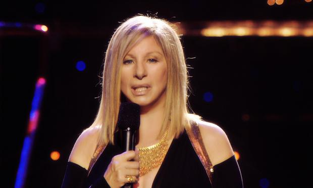 Barbra Streisand, from the DVD 'Streisand: The Concerts.'