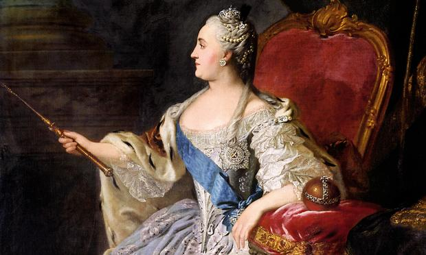 The Empress Catherine the Great, opera super-fan.