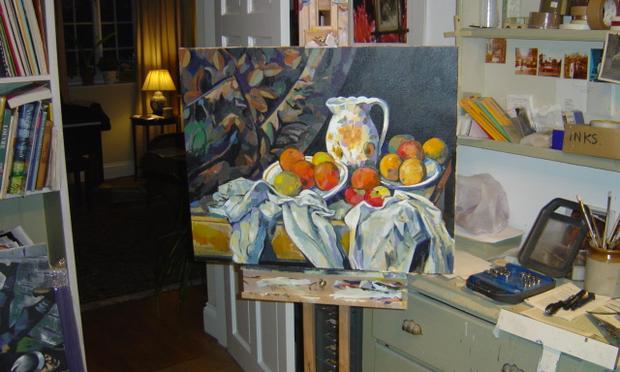 John Myatt's Cezanne