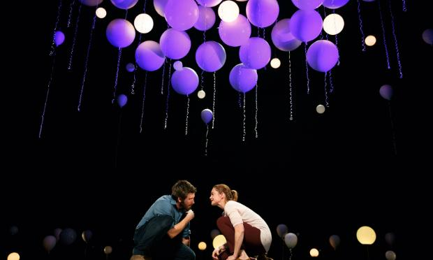 A scene from 'Constellations' with Jake Gyllenhaal and Ruth Wilson