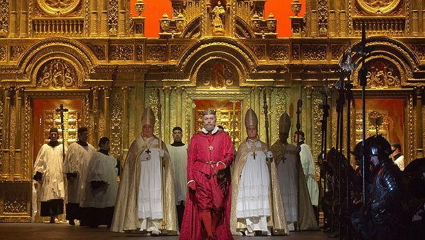 Ferruccio Furlanetto as Philip II in Verdi's 'Don Carlo'