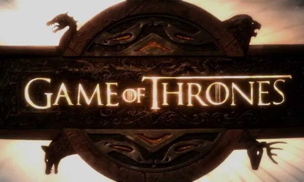 HBO's 'Game of Thrones' title card.