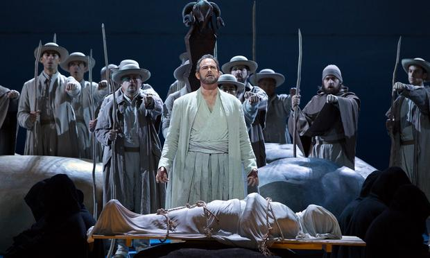Gerald Finley in the title role of Rossini's 'Guillaume Tell.'