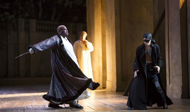 Morris Robinson, Commedatore; Adrian Eröd, Don Giovanni in 'Don Giovanni'