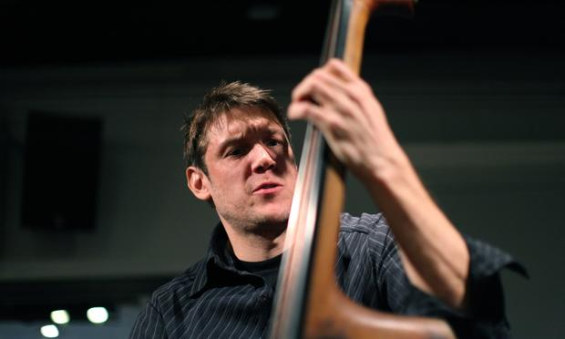 Bassist Ben Allison performs in the Soundcheck studio