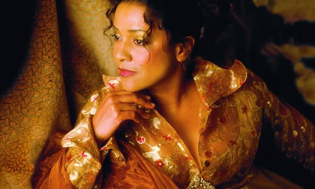 Soprano Kathleen Battle.