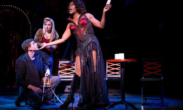 Stark Sands, Annaleigh Ashford and Billy Porter in 'Kinky Boots.'