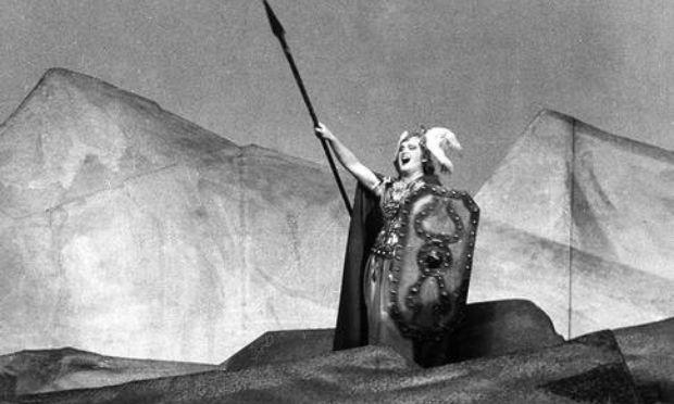 Birgit Nilsson as Brunhilde in 'Die Walkure'
