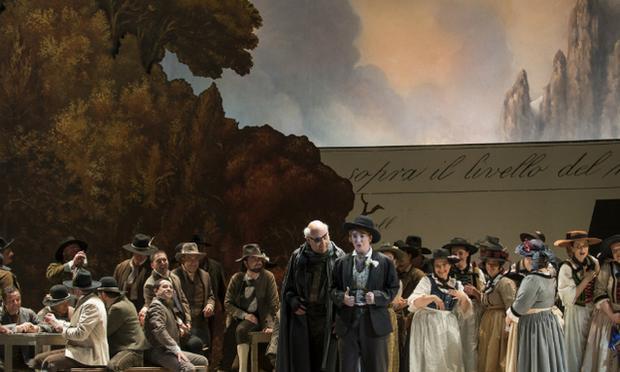 Catalani's 'La Wally' from Switzerland's Grand Theater of Geneva.