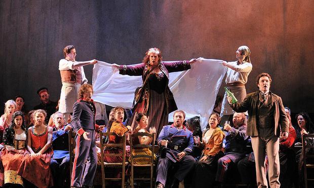 Verdi's 'La Forza del Destino' from the Gran Teatre del Liceu in Barcelona.