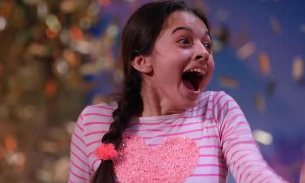 Laura Bretan, 9, performs 'Nessun Dorma' on 'America's Got Talent.'