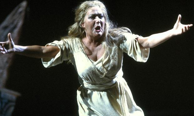 Leonie Rysanek as Sieglinde in 'Die Walküre.'