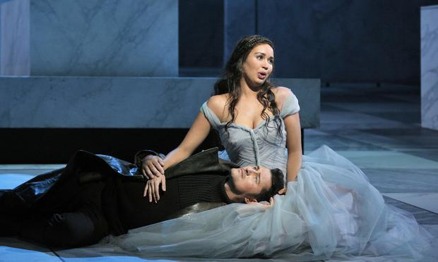 Nadine Sierra and Piotr Beczala star in 'Lucia di Lammermoor' from San Francisco.