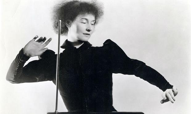 Lucie Rosen, co-founder of the Caramoor Festival and a Theremin pioneer