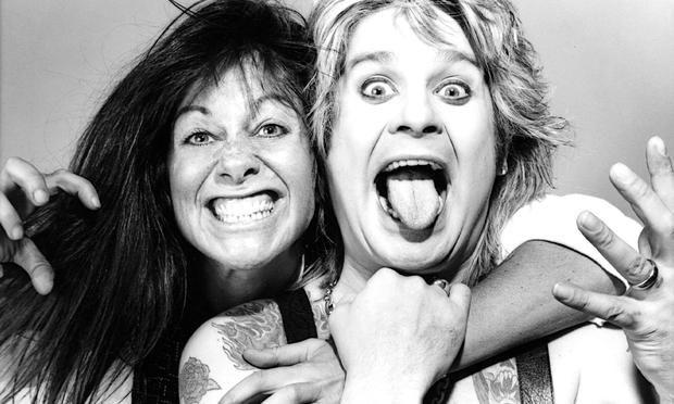 Photographer Lynn Goldsmith with Ozzy Osbourne, one of the many subjects featured in her book 'Rock and Roll Stories.'