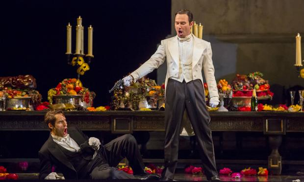 Kyle Ketelsen and Mariusz Kwiecień in 'Don Giovanni'