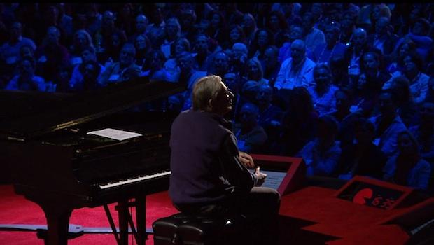 Michael Tilson Thomas gives a TED Talk in March 2012