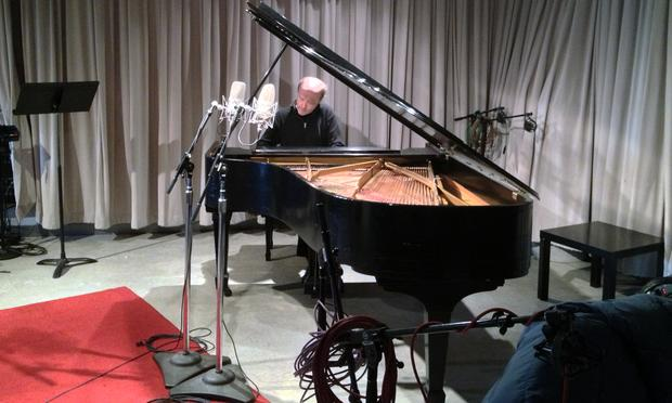 Pianist Marc-André Hamelin in the WQXR studio.