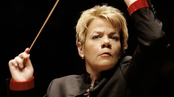 Conductor Marin Alsop.